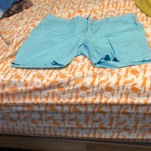 Blue Ralph Lauren men's short's. Inseam: 7 inches